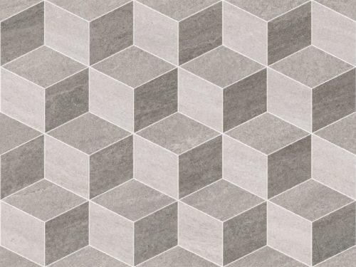 CALLISTO romb grey 25×50