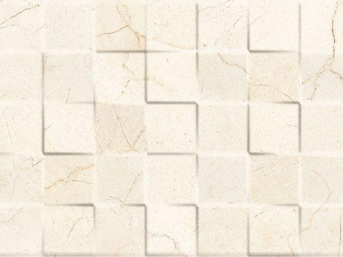 TAJMAHAL cubik crema marfil 25×75
