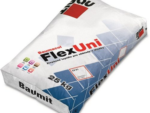 BAUMIT lepidlo Baumacol FlexUni 25kg flexibilní C2TS1