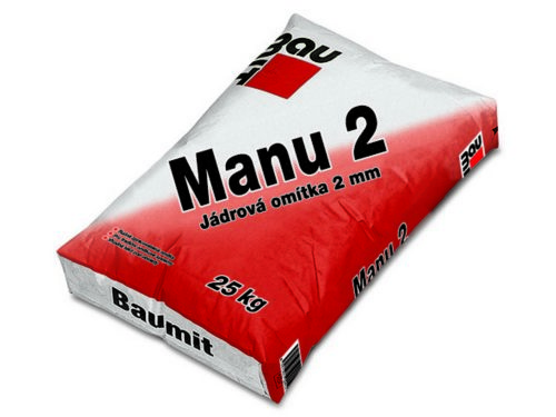 BAUMIT omítka Manu 2 25kg jádrová 2mm