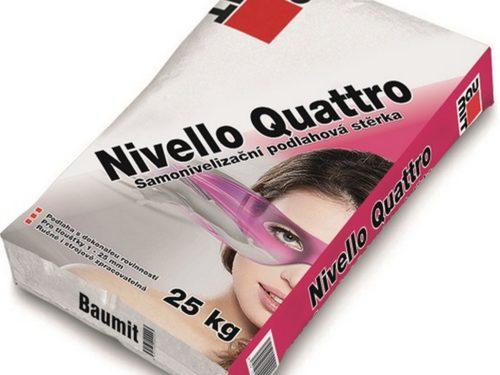BAUMIT nivelace Nivello Quattro 25kg na bázi síranu vápenatého 1-25mm