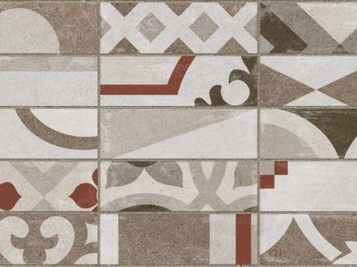 SENSI patchwork light beige 25,5×75,5